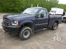 2002 FORD F250 4x4 Utility Truc