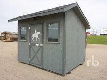 1992 8 Ft x 10 Ft Tack Room Mob