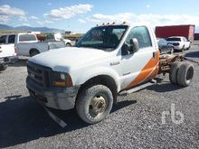 2006 FORD F350 Cab & Chassis