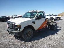 2008 FORD F350 4x4 Cab & Chassi