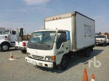 1996 ISUZU COE S/A Van Truck