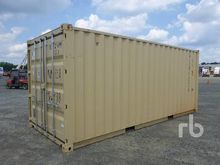 2016 8 Ft x 20 Ft Container Equ