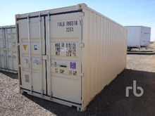 2017 20 Ft One Way Container Eq