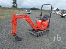 2002 KUBOTA K008 Mini Excavator