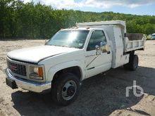 1997 GMC 3500 4x4 Dump Truck (S