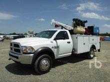 2014 DODGE 5500 4x4 Service Tru