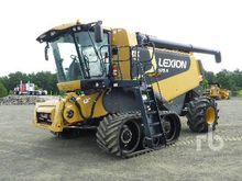 2008 LEXION 575R Tracked Combin