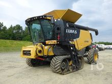 2012 LEXION 750TT Tracked Combi