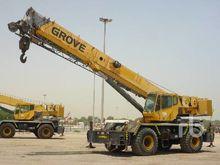 2007 GROVE RT600E 60 Ton 4x4x4
