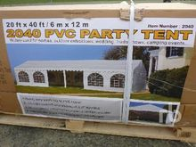 20 FT X 40 FT Enclosed Party Te