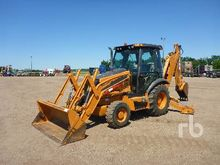 2011 CASE 580SN 4x4 Loader Back