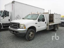 2004 FORD F550 Flatbed Trucks