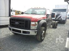 2008 FORD F450 Cab & Chassis