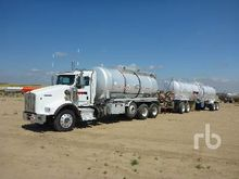 2011 KENWORTH T800 120 Barrel T