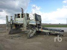 REXCON Crawler Concrete Placer