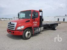 2012 HINO 268 4x2 Flatbed Truck