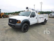 2006 FORD F550 Super Duty Servi
