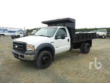 2006 FORD F550 Dump Truck (S/A)