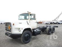 1990 FORD L8000 T/A Cab & Chass