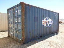 2001 CIMC 20 Ft Shipping Contai