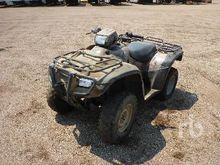 2001 HONDA FOREMAN ES 4x4 ATV (