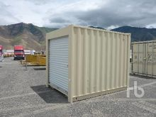Container 8 ft roll up door Con