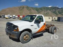 2006 FORD F250 4x4 Cab & Chassi