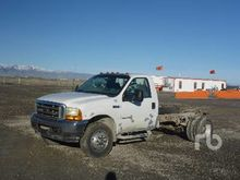 2001 FORD F550 Cab & Chassis