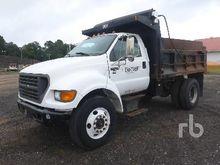 2000 FORD F750 XL Dump Truck (S