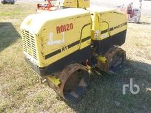 2008 WACKER RT825C Trench Compa