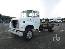 1978 FORD 8000 S/A Cab & Chassi