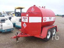 T/A Fuel Trailer Fuel & Lube Tr