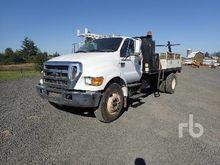 2006 FORD F750 XL Reel Truck