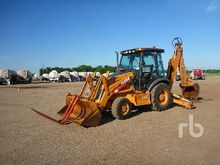 2003 CASE 580SM 4x4 Loader Back
