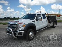 2015 FORD F550 Crew Cab Mechani
