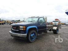 1995 GMC 3500 S/A Rolloff Truck