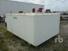 Concrete Fuel Skid Mounted Tank