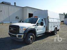 2011 FORD F550 Utility Trucks
