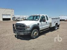 2008 FORD F550 XL Extended Cab