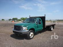 2004 FORD F550 XL 4x4 Flatbed D