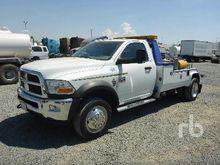 2011 DODGE 5500HD Tow Trucks