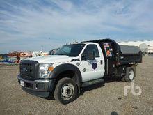 2012 FORD F550 XL Dump Truck (S