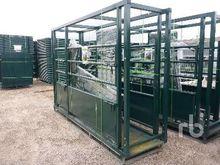 11 Ft Palpation Cage Livestock