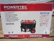 POWERTEK DG9250E 9 KW Gen Set (