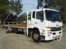 2013 UD PK16 280 4x2 Flatbed Tr