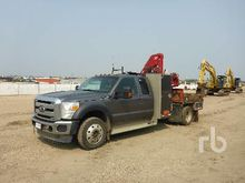 2011 FORD F550 Extended Cab 4x4