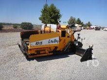 2005 LEE-BOY 8515 Crawler Aspha