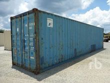 40 FT. High Cube Container Equi