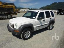 2003 JEEP LIBERTY Sport 4x4 Spo