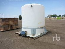 4000 Gallon Skid Mounted Poly T